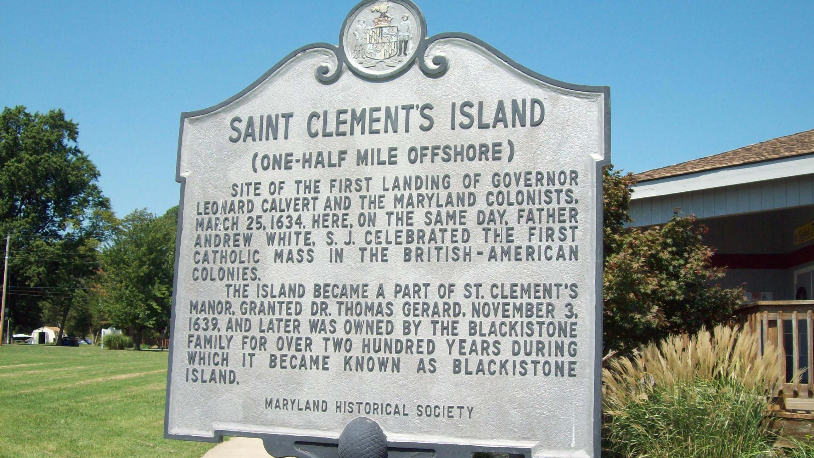 St. Clement's Island